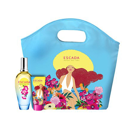 Escada Aqua del Sol Gift Set: EdT 50ml+BL 50ml+Cosmetic Bag thumbnail