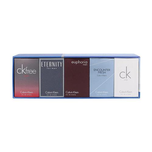 Calvin Klein Mix Gift Set: Euphoria for Men EdT 10ml+Eternity for Men EdT 10ml+CK Free Sport EdT 10ml+Enconter Fresh EdT 10ml+CK thumbnail