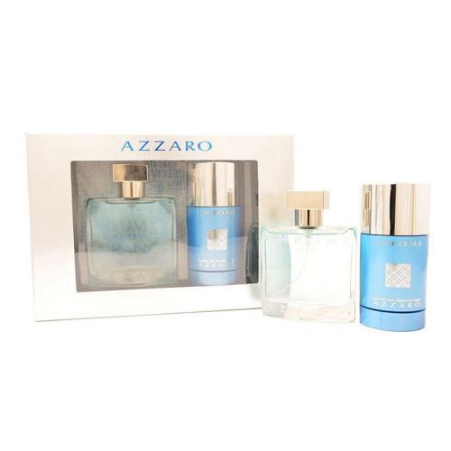 Azzaro Chrome Gift Set: EdT 50ml + Deo Stick 75ml