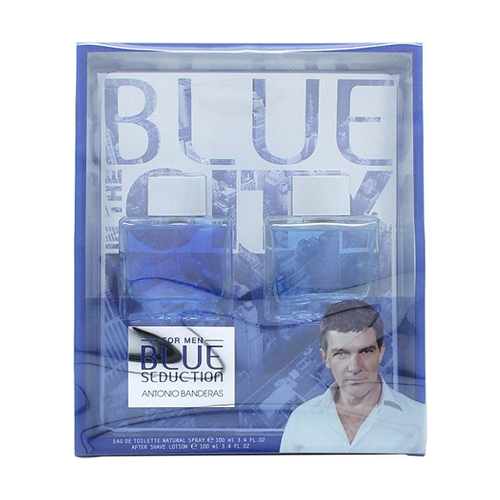 Antonio Banderas Blue Seduction Gift Set: EdT 100ml+After Shave Splash 100ml thumbnail