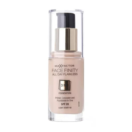 Max Factor Face Finity All Day Flawless 3in1 Foundation SPF20 W40 Light Ivory 30ml