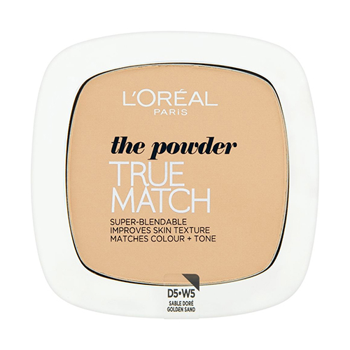 L'Oréal Paris True Match Compact Powder 5D/W5 Golden Sand 9g