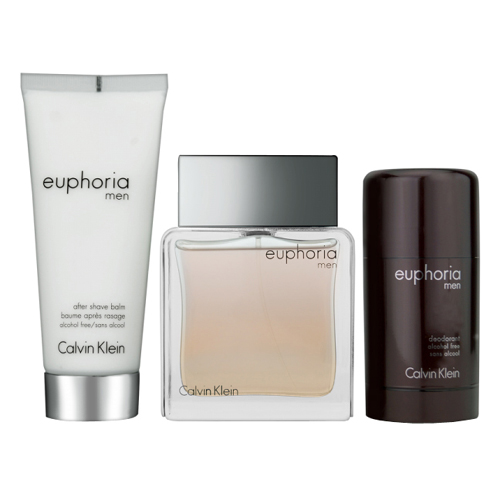 Calvin Klein Euphoria For Men Giftset: EdT 100ml+AB 100ml+Deo Stick 75ml thumbnail