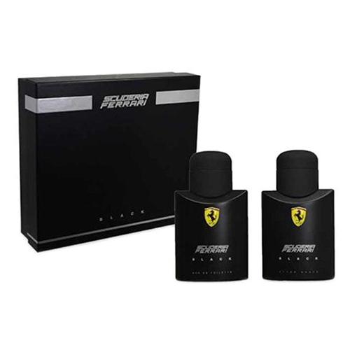 Ferrari Scuderia Black Gift Set: EdT 75ml+After Shave Splash 75ml