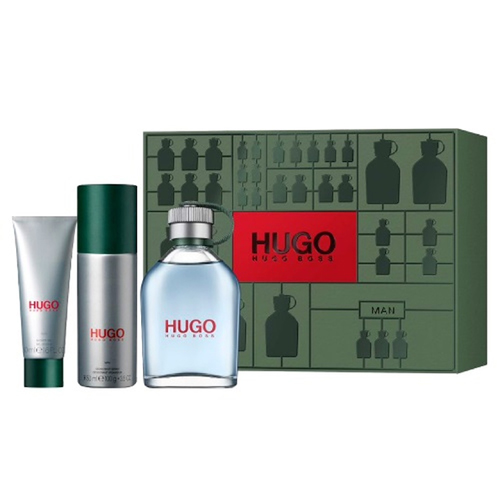 Hugo Boss Hugo Man Gift Set: EdT 125ml+Deo Spray 100ml+SG 50ml thumbnail