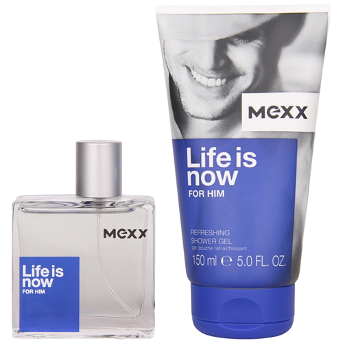 Mexx Life is Now for Him Gift Set: EdT 50ml+SG 150ml thumbnail