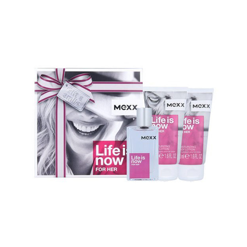 Mexx Life is Now for Her Gift Set: EdT 30ml+Body Lotion 2x50ml