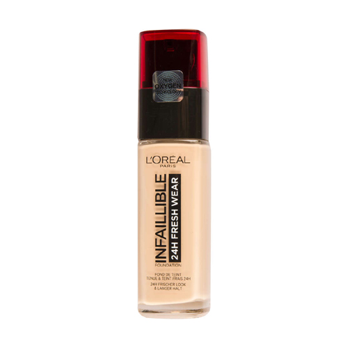 L'Oréal Paris Infallible Fresh Wear Foundation 24H 125 Natural Rose 30ml