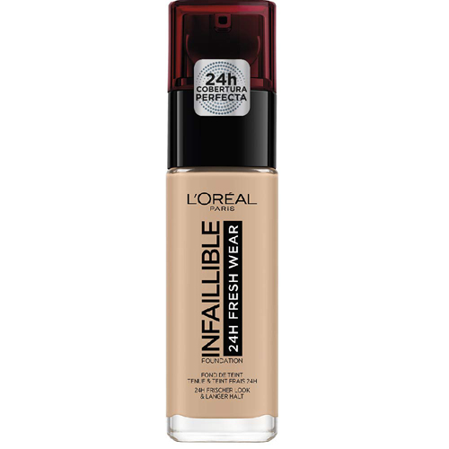 L'Oréal Paris Infallible Fresh Wear Foundation 24H 145 Rose Beige 30ml