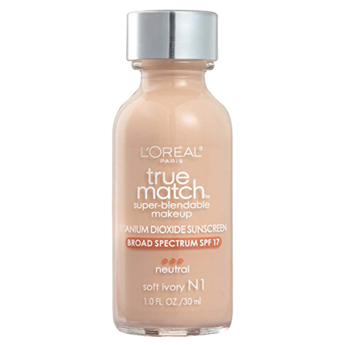 L'Oréal Paris True Match Foundation N1 Ivory SPF17 30ml