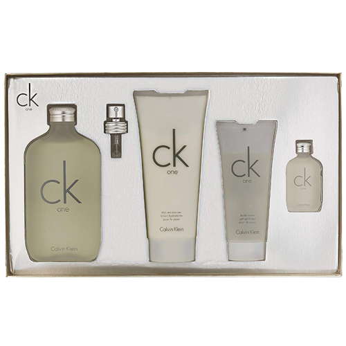 Calvin Klein CK One Gift Set: EdT 200ml+BL 100ml+SG 100ml+EdT 15ml thumbnail