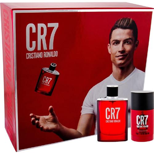 Cristiano Ronaldo CR7 Gift Set: EdT 50ml+Deo Stick 75ml