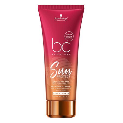 Schwarzkopf Bonacure Sun Protect Hair & Body Bath 200ml