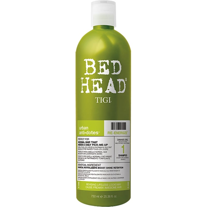 Tigi Bed Head Urban Re-Energize Shampoo 750ml