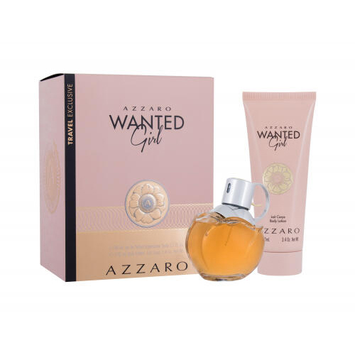 Azzaro Wanted Girl Gift Set: EdP 50ml+BL 50ml