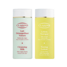 Clarins Cleansing Duo (Normal/Torr hy) Cleansing Milk 200 ml + Toning Lotion 200 ml