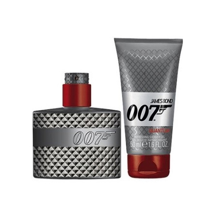 James Bond 007 Quantum Gift Set: EdT 30ml+SG 50ml - Skönhetsfel kartong