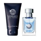 Versace Pour Homme Gift Set: EdT 30ml+SG 50ml