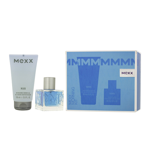 Mexx Morning Kit Gift Set: EdT 50ml+SG 150ml
