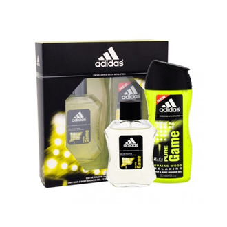 Adidas Pure Game Gift Set: EdT 100ml+SG 250ml