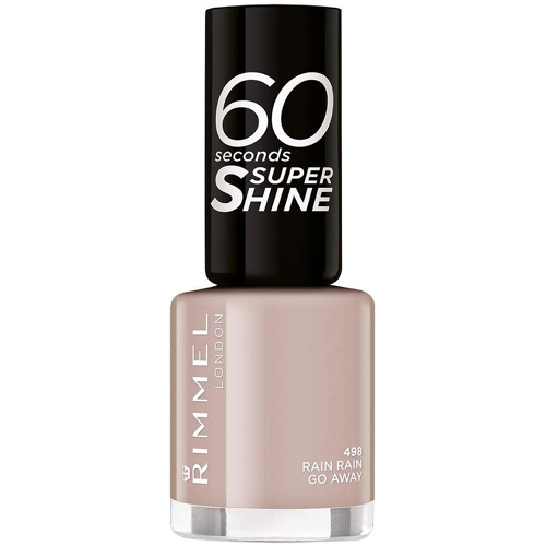 Rimmel 60 Seconds Super Shine Nail Polish 498 Rain Rain Go Away 8ml