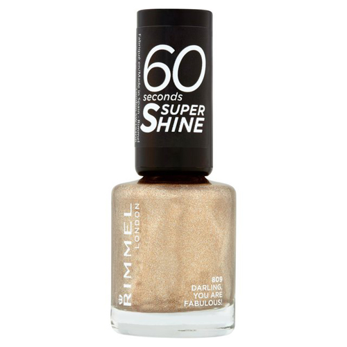 Rimmel 60 Seconds Super Shine Nail Polish 809 Darling You Are Fabulous 8ml