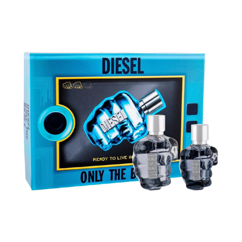 Diesel Only The Brave Gift Set: EdT 125ml+Deo 75ml