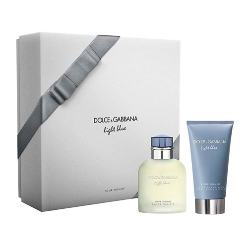 Dolce & Gabbana Light Blue Pour Homme Gift Set: EdT 75ml+ASB 75ml
