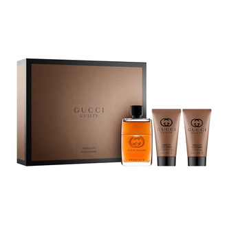 Gucci Guilty Absolute Pour Homme Gift Set: EdP 50ml+ASB 50ml+SG 50ml