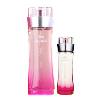Lacoste Touch of Pink Gift Set: EdT 90ml+EdT 30ml