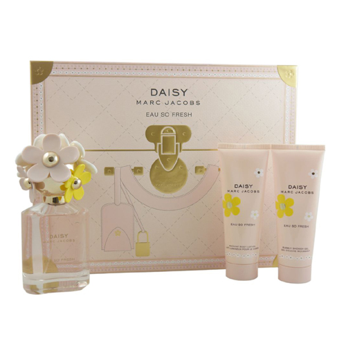 Marc Jacobs Daisy Eau So Fresh Gift Set: EdT 75ml+BL 75ml+SG 75ml