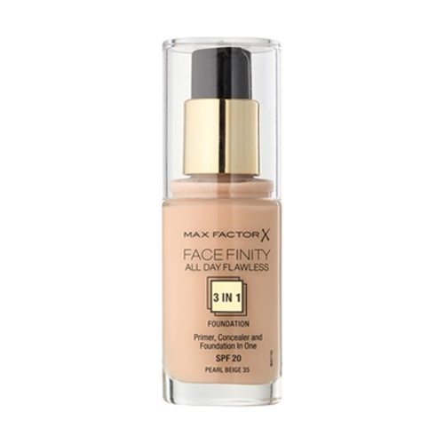 Max Factor Face Finity All Day Flawless 3in1 Foundation  SPF20 W35 Pearl Beige 30ml