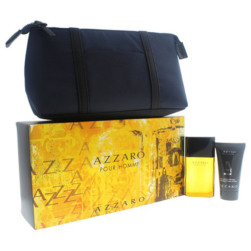 Azzaro Pour Homme Gift Set: EdT 30ml+SG 50ml+Cosmetic Bag
