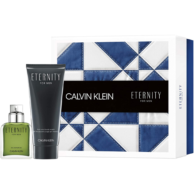 Calvin Klein Eternity for Men Gift Set: EdP 50ml+SG 100ml