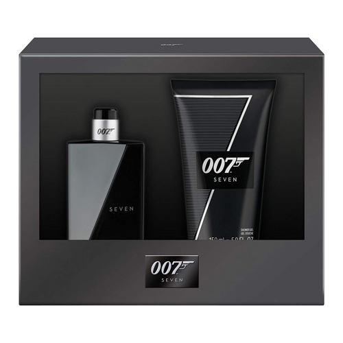 James Bond 007 Seven Gift Set: EdT 50ml+SG 150ml