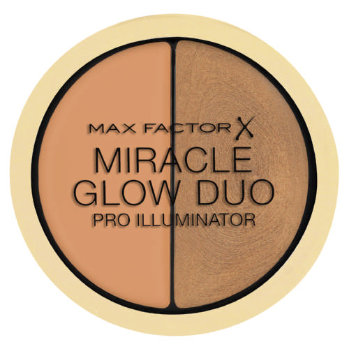 Max Factor  Miracle Glow Duo Pro Illuminator 11g W 30 Deep