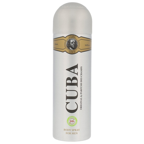 Cuba Gold Deo Spray 200ml