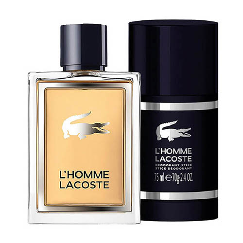 Lacoste L´Homme Gift Set: EdT 50ml+Deo Stick 75ml