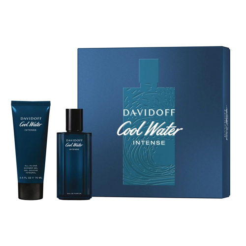 Davidoff Cool Water Intense for Him Gift Set: EdP 75ml+SG 75ml