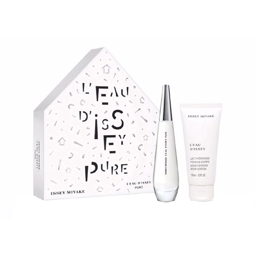 Issey Miyake L'Eau D'Issey Pure Gift Set: EdT 50ml+BL 100ml