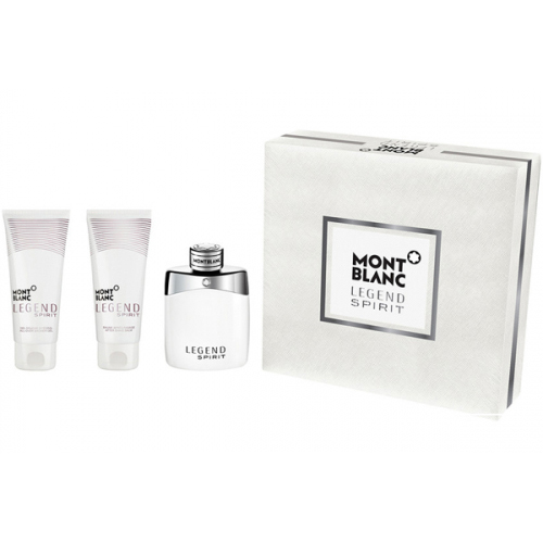 Mont Blanc Legend Spirit Gift Set: EdT 100ml+ABB 100ml+SG 100ml