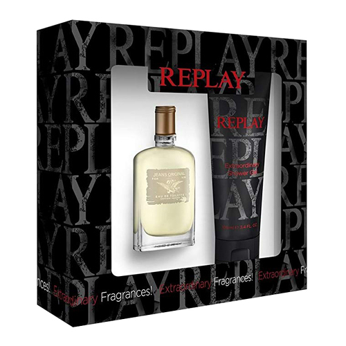 Replay Jeans Original Gift Set: EdT 30ml+SG 100ml