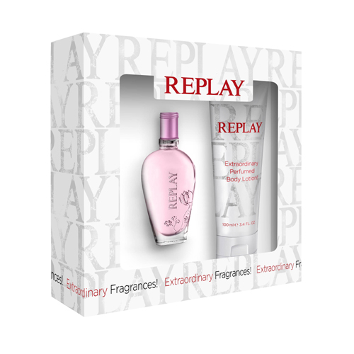Replay Jeans Spirit Woman Gift Set: EdT 20ml+BL 100ml