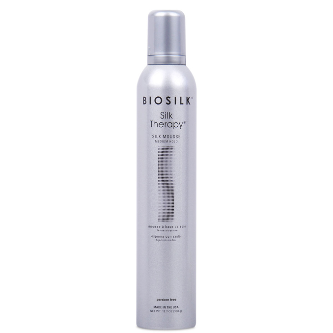 Farouk Biosilk Silk Therapy Mousse Medium Hold 355ml