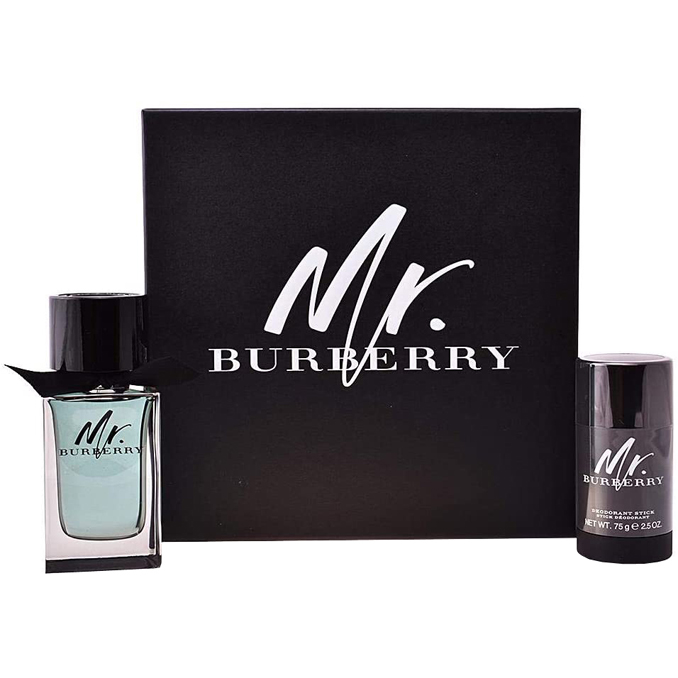 Burberry Mr Burberry Gift Set: EdT 100ml+Deo Stick 75ml