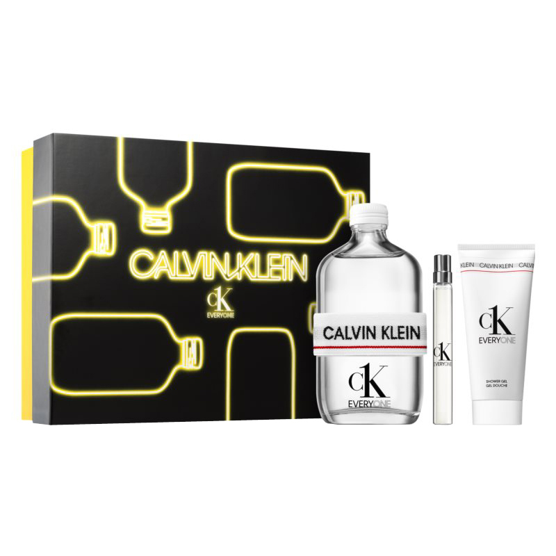 Calvin Klein CK Everyone Gift Set: EdT 200ml+EdT 10ml+SG 100ml
