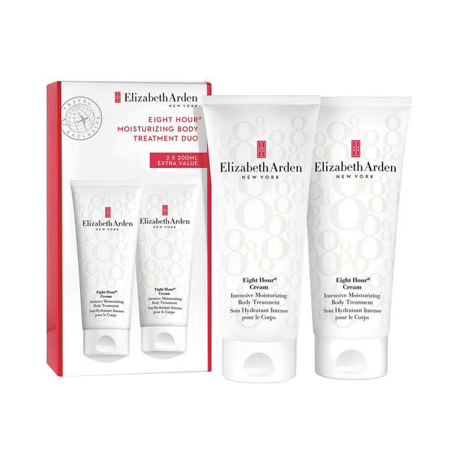 Elizabeth Arden Eight Hour Cream Gift Set: 2 x Intensive Moisturizing Body Treatment 200ml