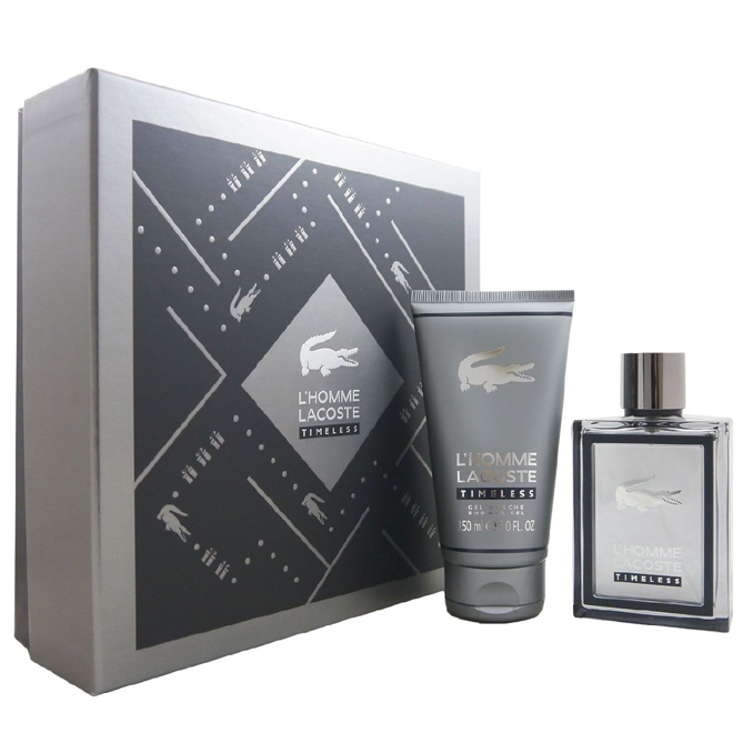 Lacoste L´Homme Timeless Gift Set: EdT 100ml+SG 100ml